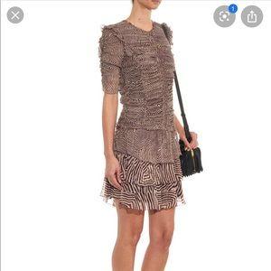 Etoile Isabel Marant Chiffon Damia Dress